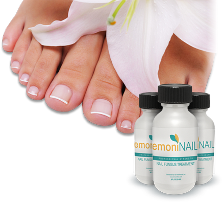 Emoninail for thick yellow toenails